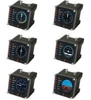 Logitech Pro Flight Instrument Panel - Schwarz