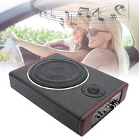 600W Auto-Subwoofer Subwoofer Box Lautsprecher Auto KFZ Untersitz Aktiv Subwoofer Car Audio