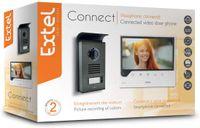 Extel Extel CONNECT Videosprechanlage, incl. Smartphone Anbindung, 2-Draht-Technik, - 7-Zoll-Touch-Monitor