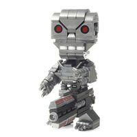 Mattel Mega Bloks Dtw67 Kubros Teminator T-800, Konstruktionsspielzeug