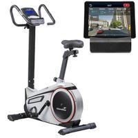 Ergometer Skandika Morpheus mit App Steuerung und Street View Funktion- Heimtrainer, Indoor fahrrad