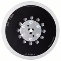 Bosch Professional 150 mm Multiloch Schleifteller, weich, M8 + 5/16' Aufnahme