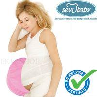 Sevibaby Ergonomisch Bauchstützkissen Schwangerschaftskissen Seitenschläferkissen Kissen Rosa 2-174-2