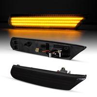 LED Seitenblinker Black Kompatibel für Porsche 911 996 + Boxster 986 97-05