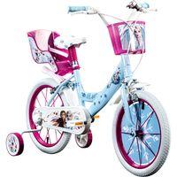 Disney Frozen 2 16 Zoll Kinderfahrrad Fahrrad Kinder ab 4 Jahre Eiskönigin 16' Mädchenfahrrad