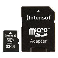 Intenso 32GB microSDHC, 32 GB, MicroSDHC, Klasse 10, UHS-I, 45 MB/s, Class 1 (U1)