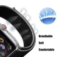 Uhrenarmband für Apple Watch 1/2/3/4/5 38/40mm Watchband Nylon Sport Outdoor Hellrosa