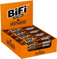 BiFi Original 100% Beef Rindersalami 24 x 20 g Geräucherte Wurstsnack