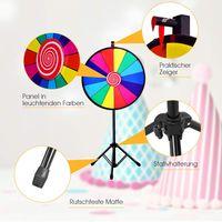 Glücksrad SpielzeugTischglücksrad Lotteriespiele Wheel Preisrad Glückspiel