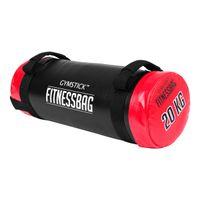 Gymstick Fitnessbag Gewichtssack Fitness Ausdauer Training Sack Back 20 kg ROT