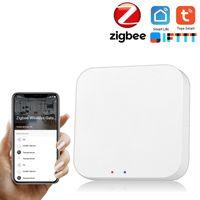 Tuya ZigBee Smart Gateway Hub Smart Home-Bruecke Tuya / Smart Life APP Wireless-Fernbedienung fuer alle Tuya ZigBee 3.0 Smart-Produkte