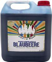 Rainbow Slush Sirup AZO FREI   Geschmack Blaubeere   Konzentrat für Slushy Maker Eis Slushmaschinen Eismaschinen Getränke 1:5