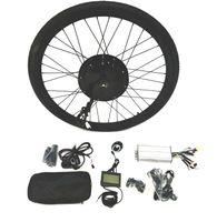 """Theebikemotor 48V1500W Elektro-Fahrrad Umbausatz + LCD + Reifen + Scheibenbremse 28"""" Hinterrad"""
