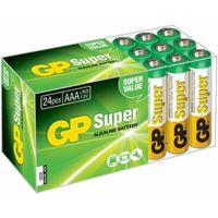 GP Super AAA-Alkalibatterien 24 Stk. 1,5 V 03024AB24