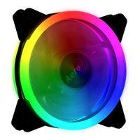 Aerocool Rev RGB, Computergehäuse, Ventilator, 12 cm, 1200 RPM, 15,1 dB, 41,3 cfm