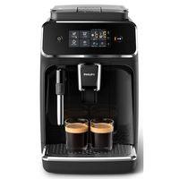 Philips EP2221/40 Kaffeevollautomat Series 2200 Panarello, 1.8 Liter Wassertank, 15 bar, Schwarz