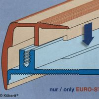 Treppenprofil Euro-Step Typ 320 - 1.000mm - silber