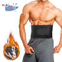 MECO Bauchweggürtel, Fitness Gürtel Einstellbare Bauchgürtel für Damen & Herren, Verstellbarer Schwitzgürtel, Abnehmen mit dem Rückenbandage, Rücken Stabilisierung für Gym, Training Größe M
