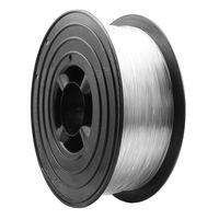 PLA Filament 3D-Drucker PLA 1,75mm 1kg Spule Rolle (Transparent)
