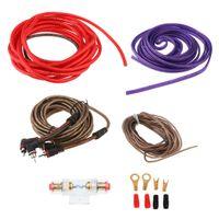 Audio Subwoofer Verstärker Installation Kit mit Kabel und Zubehör für Auto