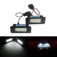 2x LED Kennzeichenbeleuchtung Leuchte Lampen für Audi A1 S1 A4 B8 8K A5 A6 C7 A7 Q5 TT VW Golf 6 7 Passat 3C B6 Seat Ibiza Skoda