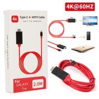 4K MHL Type C zu HDMI USB C auf HDMI HDTV TV Kabel Adapter Konverter für Macbook Android Huawei Samsung
