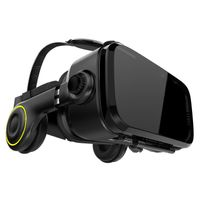 VR-SHARK® X4 black - VR Brille / VR Headset für alle 4,7 - 6,1 Smartphones