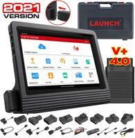 LAUNCH X431 V + Vollsystem-Autodiagnosetool OBD2-Scanner-Codeleser WiFi Bluetooth Android Tablet mit 2 Jahren Online-Update DBScar Bluetooth-Verbindungsmodul und komplettem Zubehörsatz