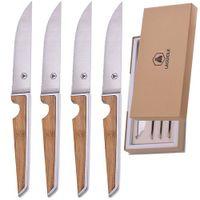 LaguioleLaguiole Bamboo Steakmesser 4er Set