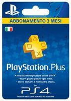 Sony Playstation Plus Card Hang 90D, PlayStation 4, 3 Monat( e), Blau, Gelb