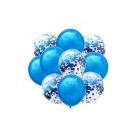 63 tlg Konfetti Luftballon Party Set Geburtstag Party Hochzeit JGA Ballons Deko
