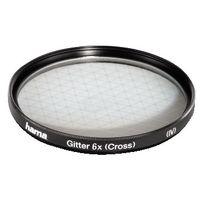 Hama Effect Filter, Cross Screen, 6 x, 52.0 mm, Schwarz