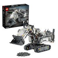 LEGO 42100 Technic Liebherr Bagger R 9800, App-gesteuertes Konstruktionsspielzeug für Fortgeschrittene mit Smarthub und interaktiven Motoren