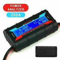 200A Wattmeter und Leistungsanalysator LCD Hochpräziser Leistungsanalysator