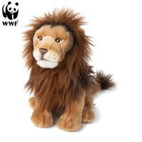 WWF Plüschtier Löwe (30cm) lebensecht Kuscheltier Stofftier Plüschfigur
