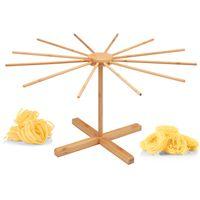 bremermann Nudeltrockner aus Bambus – Nudelständer für selbstgemachte Pasta, faltbar // Pastatrockner