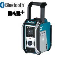 Makita Akku-Baustellenradio DMR115 DAB DAB+ Bluetooth Netzteil 12-18V IP65