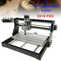 Lasergravierer Graviermaschine   Graveur  Fräsmaschine 3-Achsen-CNC-Kunststoff, Holz