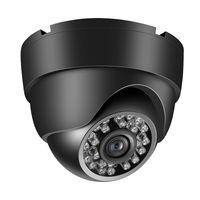 Dome Bullet CCTV Kamera mit Metallgehaeuse im Innen  und Aussenbereich Verwenden Sie das intelligente Bewegungssystem IP66 Waterproof Pal System Schwarz