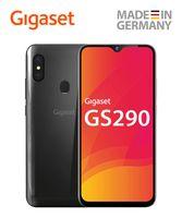 Gigaset GS290 Smartphone (16,0 cm) - 16 MP Frontkamera, Gesichtserkennung, Dual SIM, Android 9 Pie, 64 GB interner Speicher, 4GB RAM - Titanum grey