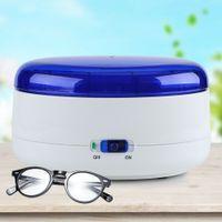 400ml Elektrischreiniger Reinigungsgerät für Schmuck Brille Reinigung Gerät mit Korb