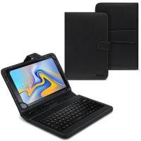 Samsung Galaxy Tab A 10.5 Tablet Tasche USB Tastatur Keyboard Hülle Schutzhülle