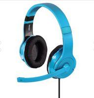 "Hama Painless, PC/Spiele, Stereophonisch, Kopfband, Türkis, 2x 3.5 mm (1/8""), verkabelt"