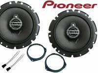 Pioneer 3 wege Opel Corsa D 2006-2014 Lautsprecher Set Tür Vorn 300 Watt