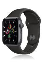 Apple Watch SE GPS 44mm Space Gray Alu Black Sport Band