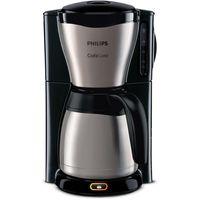 PHILIPS Gaia Collection HD7548/20 Kaffeemaschine Thermokanne, schwarz/Edelstahl