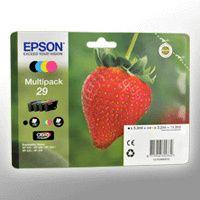 Epson Strawberry Multipack 4-colours 29 Claria Home Ink - Original - Tinte auf Pigmentbasis - Schwarz - Cyan - Magenta - Gelb - Epson - - Expression Home XP-455 - Expression Home XP-452 - Expression Home XP-445 - Expression Home... - 1 Stück(e)