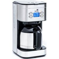 Senya programmierbare elektrische Kaffeemaschine Inox Hot Coffee, Edelstahl-Thermoskanne mit Aromawahlschalter