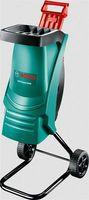 Bosch AXT Rapid 2000 Elektro Häcksler Gartenhäcksler mit Stopfer 2000 Watt