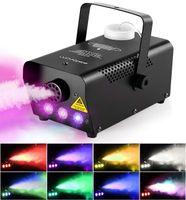 500W Nebelmaschine RGB LED Bühnenlicht Fog Machine Licht Effekt Party DJ Disco